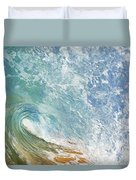 Wave Tube Along Shore Duvet Cover
