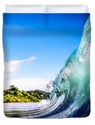 Wave Wall Duvet Cover