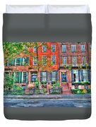 Waverly Place Townhomes Duvet Cover