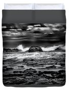 Waves At Dawn Duvet Cover