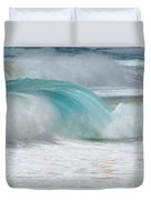 Waves End Duvet Cover