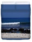 Waves In Paradise Duvet Cover