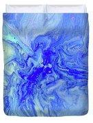 Waves Of Blue Duvet Cover