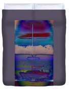 Waves Of Emotion Duvet Cover