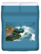 Waves Of La Jolla Duvet Cover