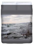 Waves Of Superior Duvet Cover