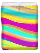 Waves Of Wishes Duvet Cover