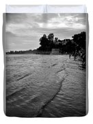 Waves On The Ganges Duvet Cover