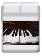 Wavey Piano Keys Duvet Cover