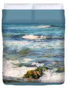 Sea Waves ...  Duvet Cover