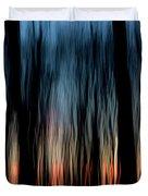 Wavy Sunset Duvet Cover