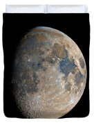 Waxing Gibbous Moon / Day 11 Duvet Cover