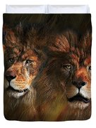 Way Of The Lion Duvet Cover