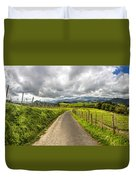 Way To Orio, Spain Duvet Cover