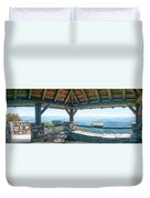 Wayah Bald Observation Tower - Macon County, North Carolina Duvet Cover