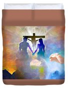 We Are God's Masterpiece Duvet Cover
