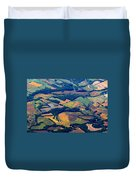 We Are In Kansas Toto Duvet Cover