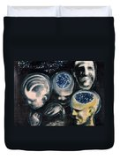 We Are Universe Duvet Cover