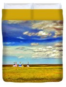 We Belong To This Land Duvet Cover