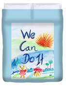 We Can Do It Duvet Cover