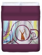 We Made It Moses   Duvet Cover