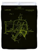 Weapon Patent Drawing 2h Duvet Cover