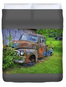 Wears Valley 1954 Gmc Wears Valley Tennessee Art Duvet Cover