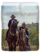 Weary Union Soldiers Duvet Cover