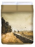 Weather Roads Duvet Cover