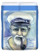 Weathered - He And His Memories... Duvet Cover