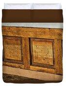 Weathered Bench - Santa Fe #2 Duvet Cover