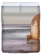 Weathered In Time Duvet Cover