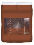 Weathered Metal Rivets Duvet Cover