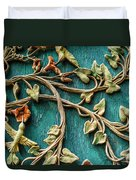 Weathered Wall Art Duvet Cover