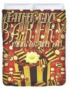 Weathermays Bakery 1943 Duvet Cover