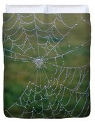 Web After The Storm Duvet Cover