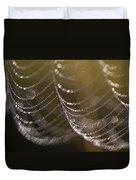 Web Sparkle Duvet Cover
