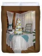 Wedding Cake Duvet Cover