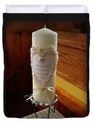 Wedding Candle  Duvet Cover