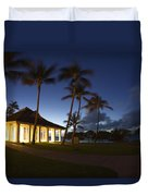 Wedding Chapel At Turtle Bar Resort Duvet Cover