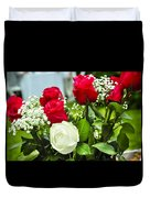 Wedding Flowers Duvet Cover