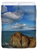 Wedding Rock Patrick Point Duvet Cover