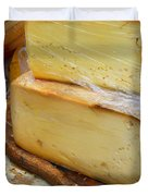 Wedges Of Ripe Cheese Wrapped Duvet Cover
