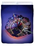 Wee Hong Kong Planet Duvet Cover