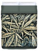 Weed Abstracts Four Duvet Cover