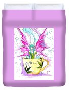 Weed Fairy Naptime Duvet Cover