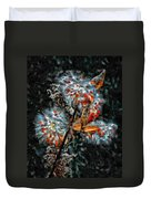 Weed Galaxy Painted Version  Duvet Cover