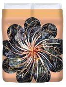 Weed Whirl Duvet Cover