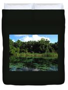 Weeki Wachee River Duvet Cover