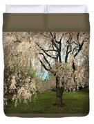 Weeping Asian Cherry Duvet Cover